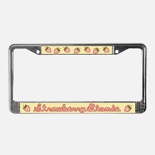 Strawberry Blonde License Plate Frame