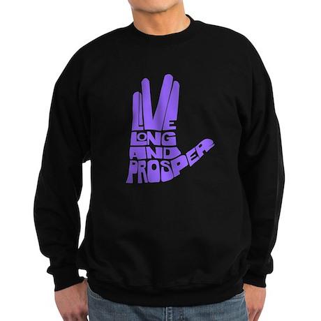 Live long and Prosper Sweatshirt (dark)