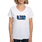 Law Women's V-Neck T-Shirt