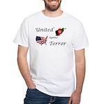 United against Terror White T-Shirt