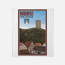 Hohenfels Tower Throw Blanket