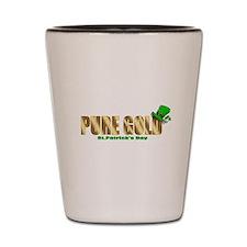 Irish Pure Gold Shot Glass