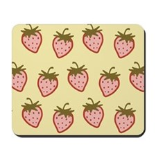 Cutie Strawberries Mousepad