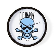 Die Happy #2 Wall Clock