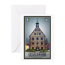 Grafenwöhr Rathaus Greeting Card
