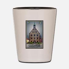 Grafenwöhr Rathaus Shot Glass