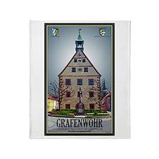 Grafenwöhr Rathaus Throw Blanket