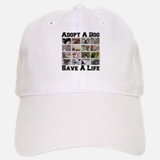 Adopt A Dog Save A Life Baseball Baseball Cap