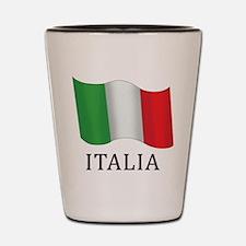Italia Flag Shot Glass