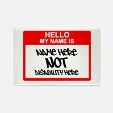 Hello... Rectangle Magnet (10 pack)