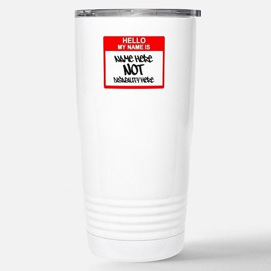 Hello... Stainless Steel Travel Mug
