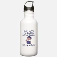 Contagious Smile (boy) Water Bottle
