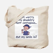 Contagious Smile (boy) Tote Bag