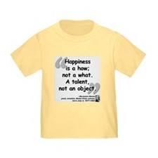 Hess Happiness Quote T
