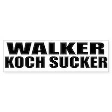 Walker Koch Sucker Bumper Bumper Sticker