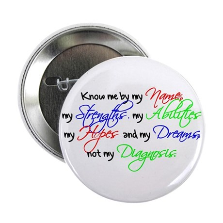 """Know Me 2.25"""" Button (10 pack)"""
