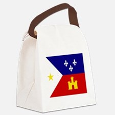 Cute Cajun Canvas Lunch Bag