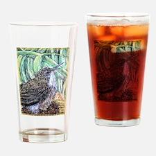 Baby Bird, nature, art, Pint Glass