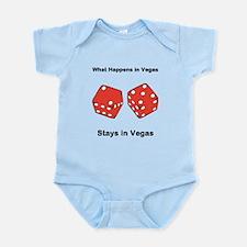 What Happens in Vegas Stays in Vegas Infant Bodysu