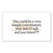 Simple Conversation - Decal