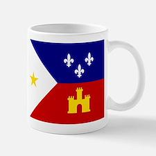 Flag of Acadiana Louisiana Mugs