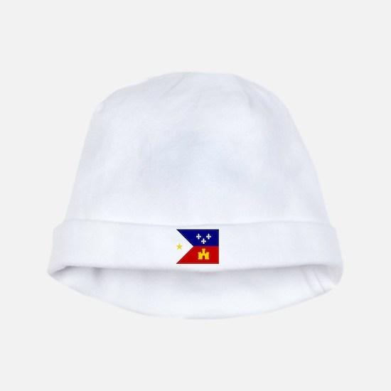 Flag of Acadiana Louisiana Baby Hat