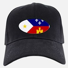 Flag of Acadiana Louisiana Baseball Hat