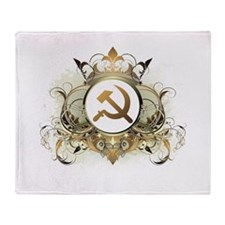 Stylish Soviet Throw Blanket