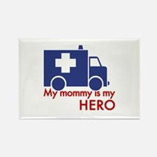 My Mommy Is My Hero Rectangle Magnet