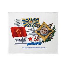 Soviet Military Throw Blanket