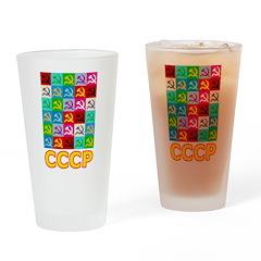 Pop Art CCCP Pint Glass