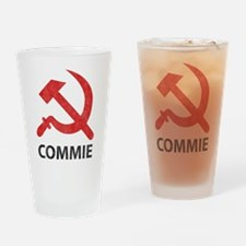 Vintage Commie Pint Glass
