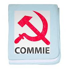Vintage Commie baby blanket
