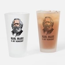 Karl Marx Is My Homeboy Pint Glass