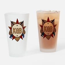 KGB Pint Glass