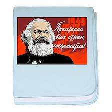 Karl Marx baby blanket