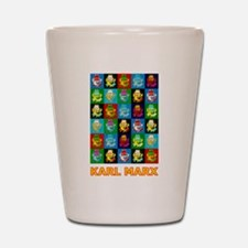 Pop Art Karl Marx Shot Glass