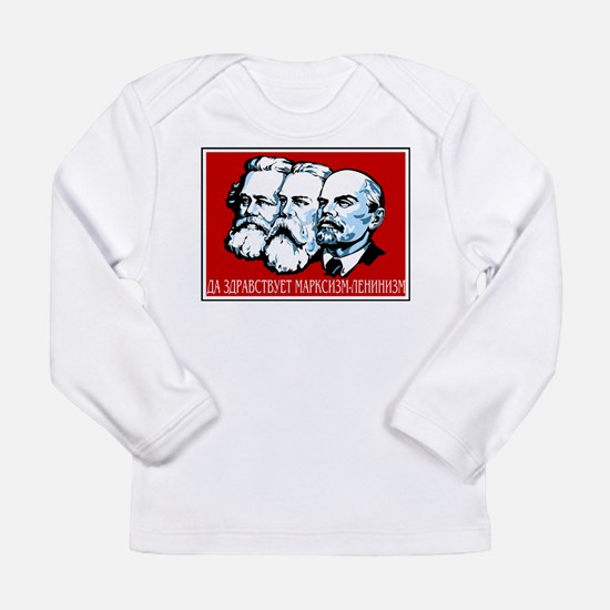 Marx, Engels, Lenin Long Sleeve Infant T-Shirt