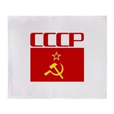 Cool CCCP Throw Blanket