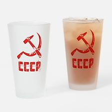 Vintage CCCP Pint Glass