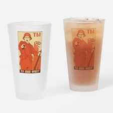 Red Army Pint Glass