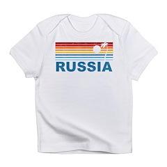 Retro Palm Tree Russia Infant T-Shirt