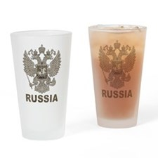 Vintage Russia Pint Glass