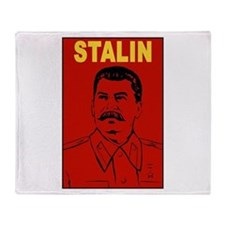 Stalin Throw Blanket