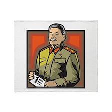 Stalin Throw Blanket