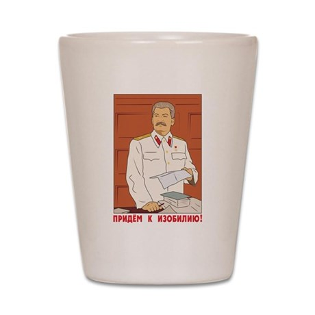 Joseph Stalin Shot Glass
