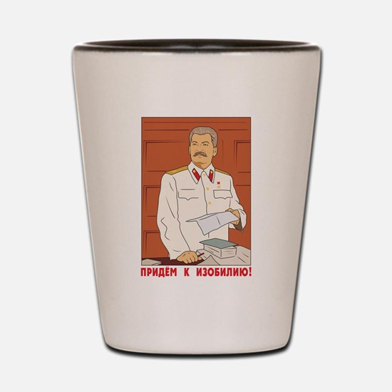 Joseph Stalin Shot Glass