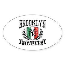 Brooklyn NY Italian Decal