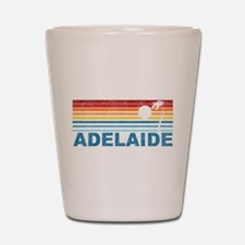 Retro Adelaide Palm Tree Shot Glass