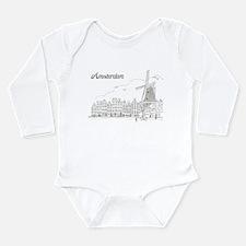 Vintage Amsterdam Long Sleeve Infant Bodysuit